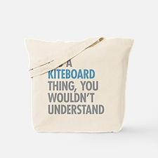 Kiteboard Thing Tote Bag