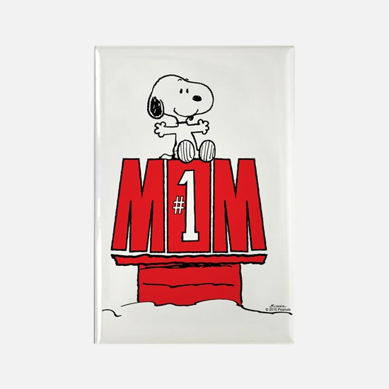 Snoopy - Mom #1 Magnets