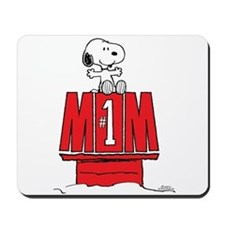Snoopy - Mom #1 Mousepad