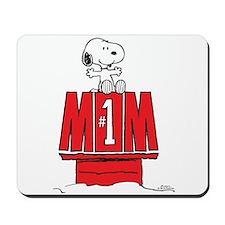 Snoopy - Mom #1 Mousepad