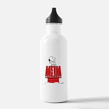 Snoopy - Mom #1 Water Bottle