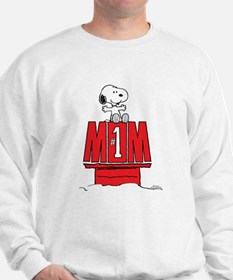 Snoopy - Mom #1 Sweatshirt