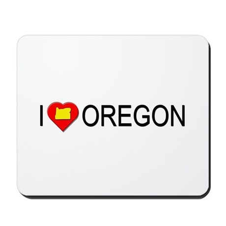 I love Oregon Mousepad