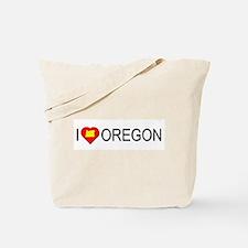 I love Oregon Tote Bag