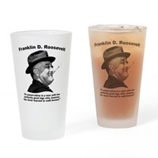 FDR: Conservatives Drinking Glass