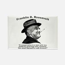 FDR: Conservatives Rectangle Magnet