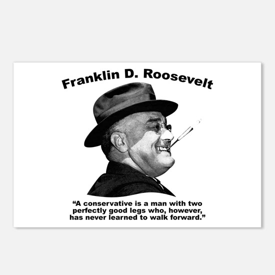 FDR: Conservatives Postcards (Package of 8)