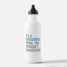 Kitesurfing Thing Water Bottle