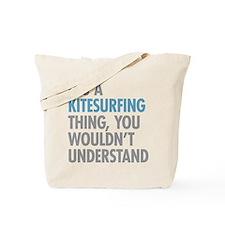Kitesurfing Thing Tote Bag