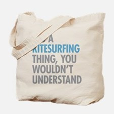 Kitesurfing Thing Tote Bag