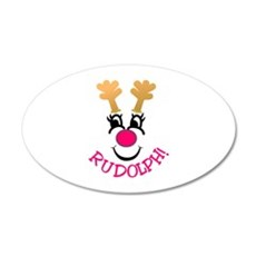 Rudolph! Wall Decal