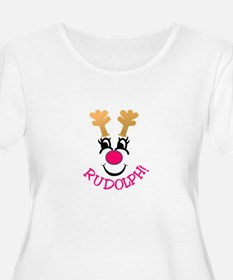 Rudolph! Plus Size T-Shirt