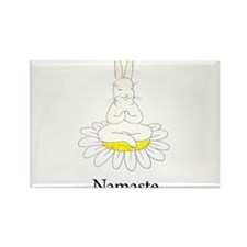 Funny Cute bunny Rectangle Magnet (10 pack)