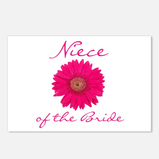 Niece of the Bride Postcards (Package of 8)