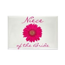 Niece of the Bride Rectangle Magnet