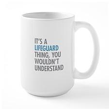 Lifeguard Thing Mugs