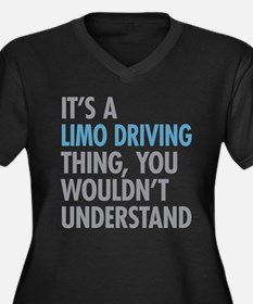 Limo Driving Thing Plus Size T-Shirt