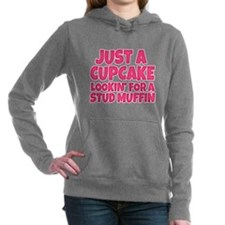 just a cupcake lookin fo Women's Hooded Sweatshirt