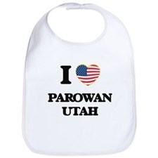 I love Parowan Utah Bib