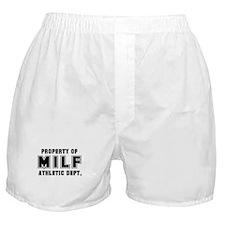 MILF Athletic Dept. Boxer Shorts