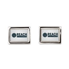 Cute Background Rectangular Cufflinks