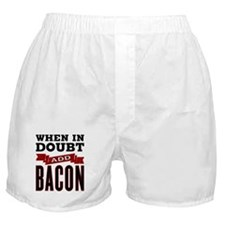 Add Bacon Boxer Shorts