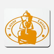 Luxor Passport Stamp Mousepad