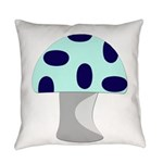 Blue Mushroom.png Everyday Pillow