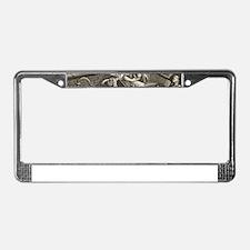 gin lane License Plate Frame