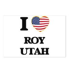 I love Roy Utah Postcards (Package of 8)