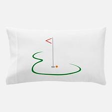Golf Green Pillow Case