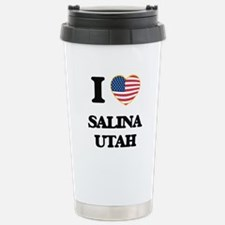 I love Salina Utah Stainless Steel Travel Mug