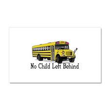 No Child Car Magnet 20 x 12