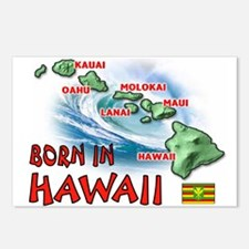 HAWAII BORN Postcards (Package of 8)