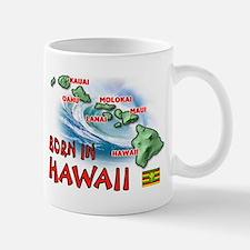 HAWAII BORN Mugs