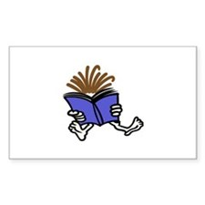 Reading Kid Decal