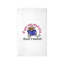 Thank A Teacher Area Rug