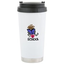 I Love School Travel Mug