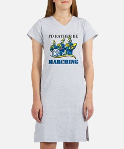 Rather Be Marching Women's Nightshirt