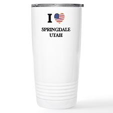 I love Springdale Utah Travel Coffee Mug