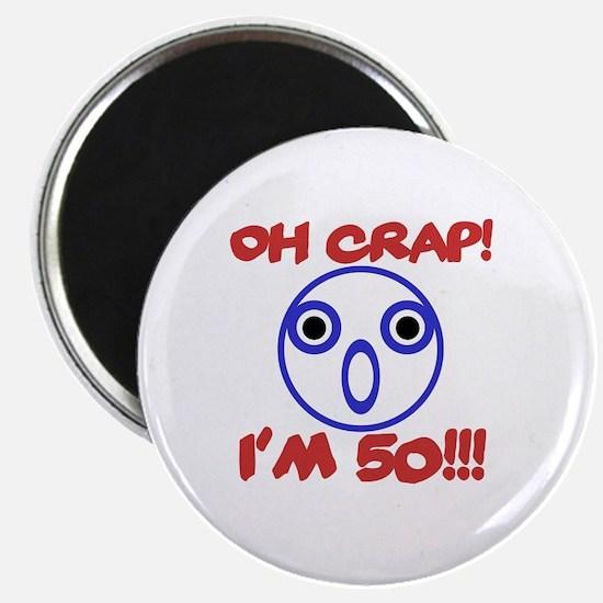 Funny 50th Birthday Magnet