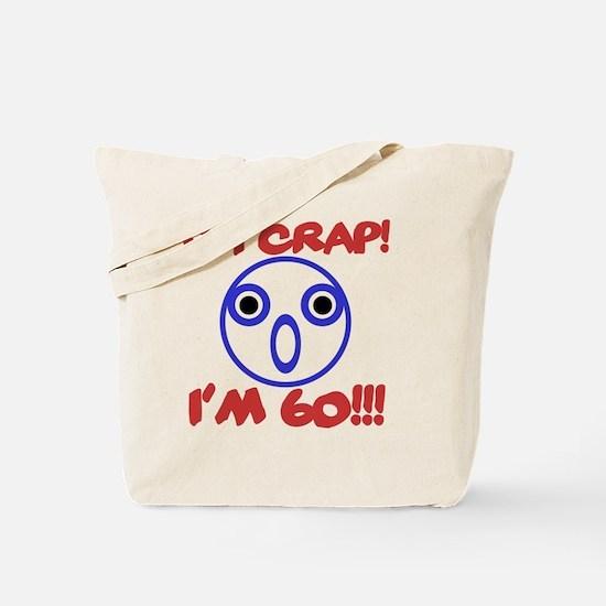 Funny 60th Birthday Tote Bag