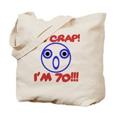 Funny 70th Birthday Tote Bag