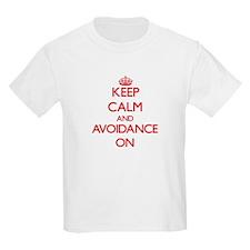 Keep Calm and Avoidance ON T-Shirt