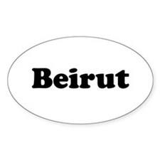 Beirut Oval Decal