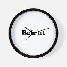 Beirut Wall Clock