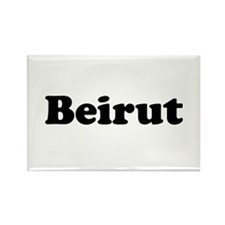 Beirut Rectangle Magnet
