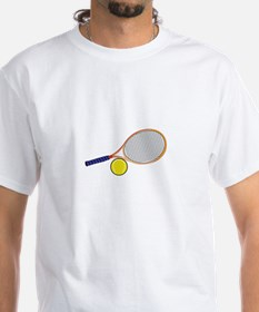Tennis Racquet and Ball T-Shirt