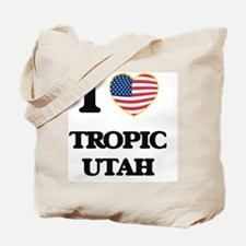 I love Tropic Utah Tote Bag