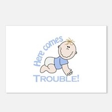 Here Comes Trouble! Postcards (Package of 8)